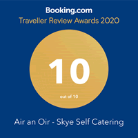 Booking.com 10/10 Traveller Review Awards 2020