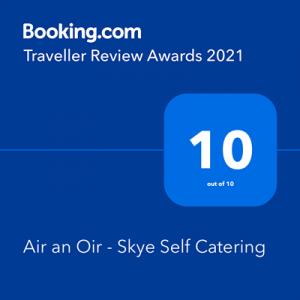 Booking.com Traveller Review Awards 2021 10/10