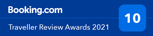 BOOKING.COM TRAVELLER REVIEW AWARDS 2020 10/10
